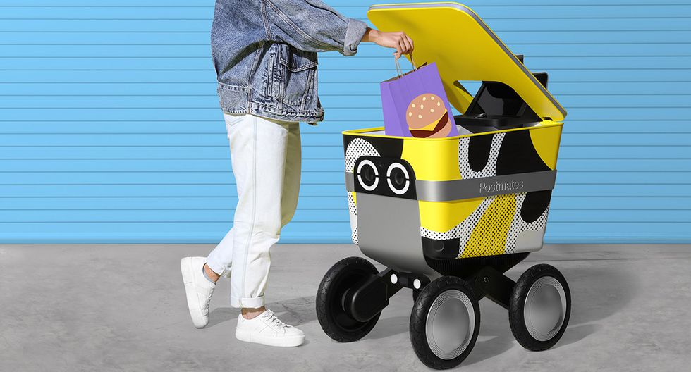 La empresa Postmates lanzará a fines de año unos robots que se encargarán del reparto de productos. (Foto: Difusión)