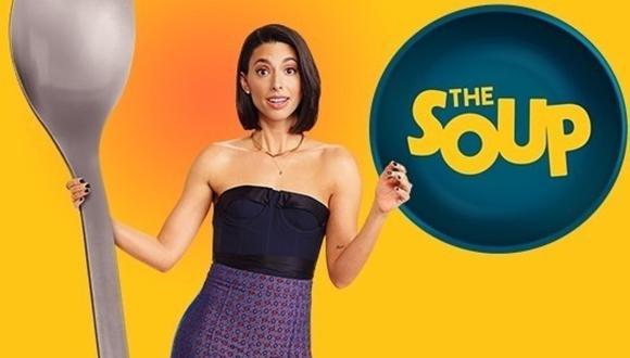 """The Soup"" regresó a la TV con Jade Catta-Preta. (Foto: @thesouptv)"