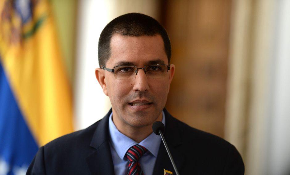 Jorge Arreaza, ministro de Relaciones Exteriores de Venezuela, se opuso a las exigencias de Europa para que su país convoque a elecciones. (Foto: AFP)