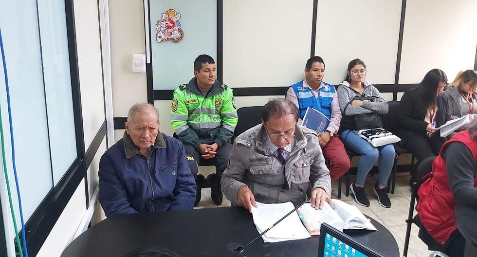 El último miércoles el hombre participó de las diligencias de reconstrucción del crimen en la localidad de Canta. (Foto: Poder Judicial)