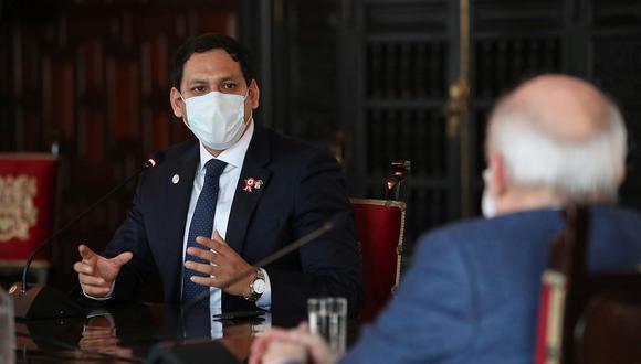 Luis Valdez es legislador por la bancada Alianza para el Progreso. (Foto: PCM)