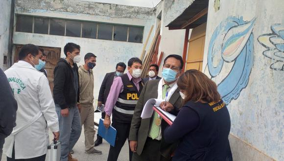 Según información fiscal, ocurrió el pasado 7 de marzo cuando Rivera Gonzales se encontraba acompañada de tres jóvenes en un edificio ubicado en la primera cuadra de la calle Álvarez Thomas. (Foto: MP)