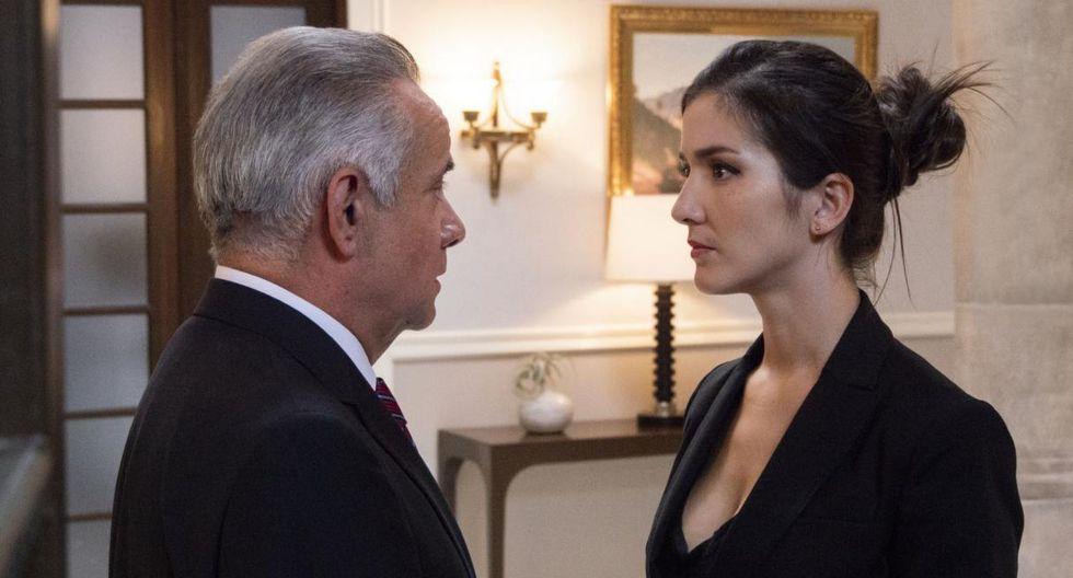Eréndira Ibarra es Ana Vargas-West en 'Ingobernable' (Foto: Netflix)