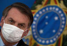 """Jair Bolsonaro califica al coronavirus de """"gripecita"""" y critica el confinamiento"""
