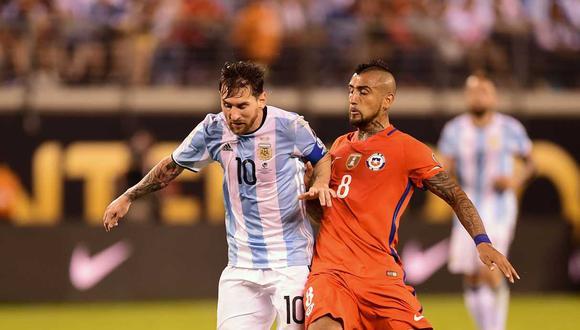 Argentina y Chile tendrán un amistoso después de la Copa América 2019. (Foto: AFP)