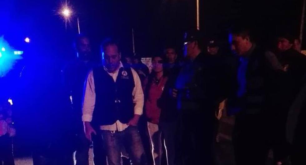 Desconocidos lanzaron una bomba molotov al local partidario del candidato de APP en Pimentel, Chiclayo.