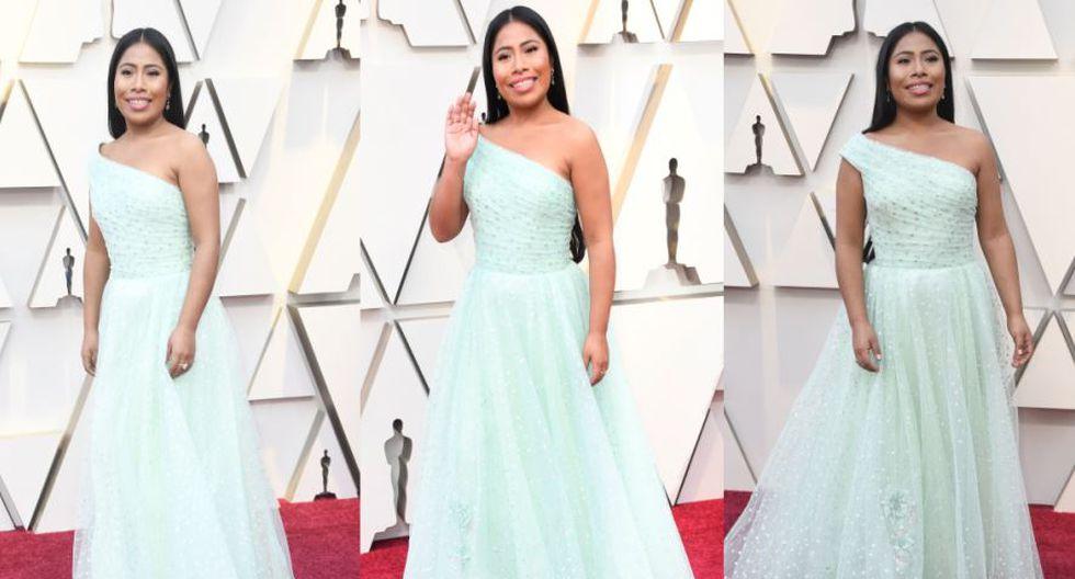 Yalitza Aparicio Llegó A La Alfombra Roja De Premios Oscar Y