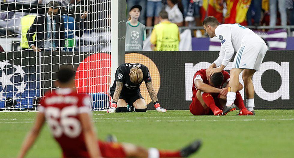 Karius cometió dos graves errores que perjudicaron claramente a Liverpool en la final ante Real Madrid por el título de la Champios. (REUTERS)