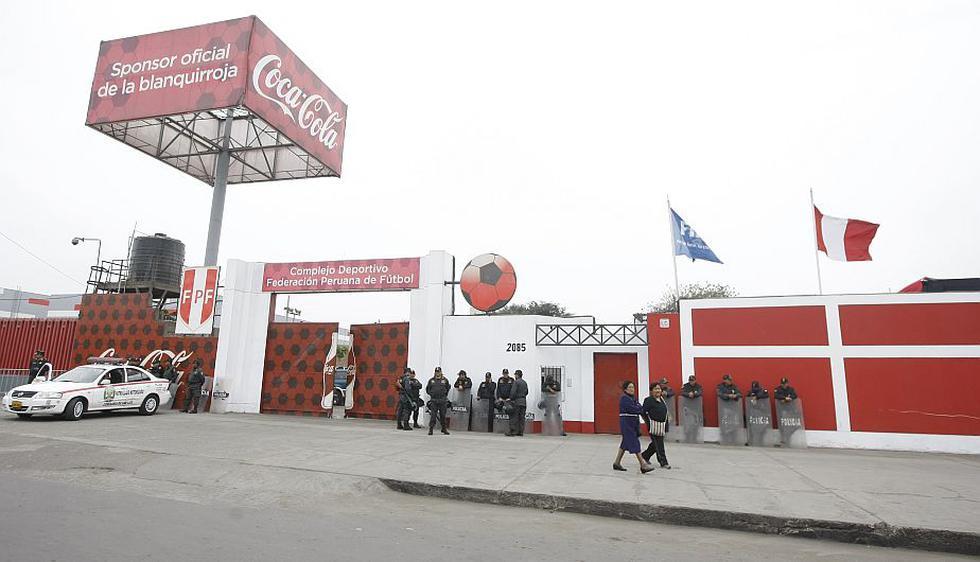 Las elecciones en la FPF iban a realizarse esta tarde en la Videna, en San Luis. (Mario Zapata)