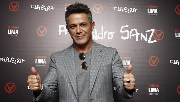 Alejandro Sanz anunció su nuevo documental e invita al público para que aparezca a su lado. (Foto: Leandro Brito/GEC)