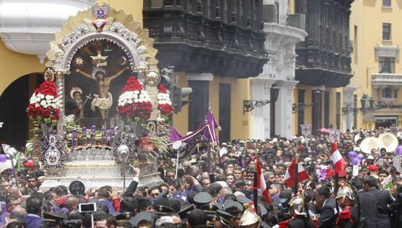 Señor de los Milagros saldrá en procesión por las calles de Lima este viernes santo. (USI)