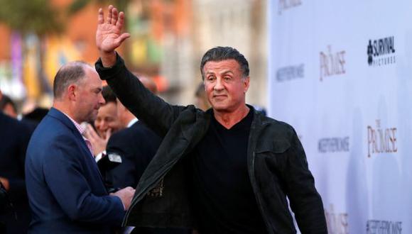 Sylvester Stallone demandó a la Warner Bros. por incumplimiento de contrato. (Créditos: Reuters)