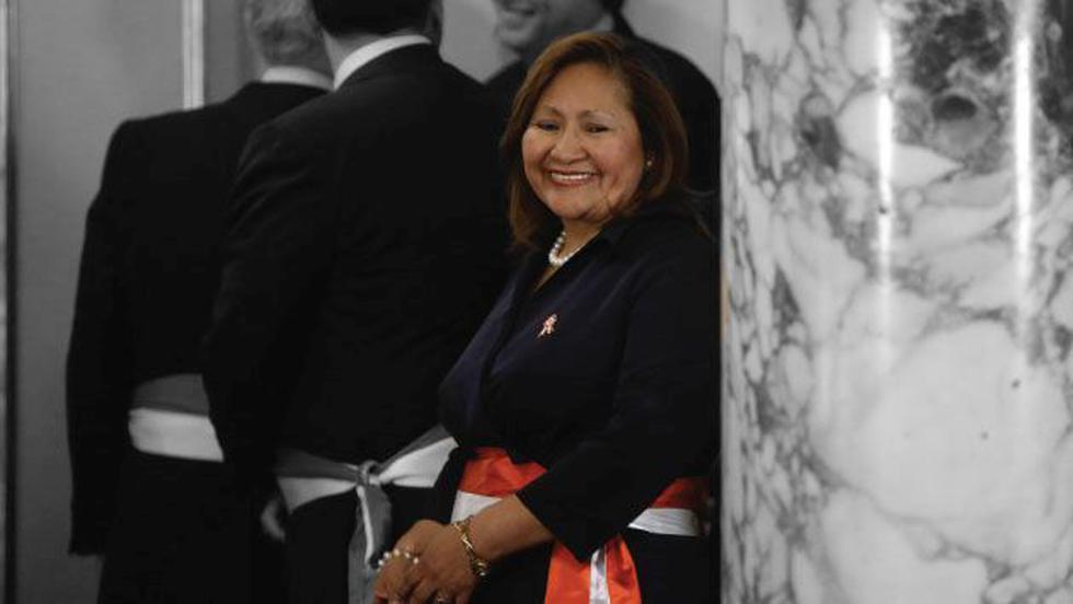 Ana María Choquehuanca se pronunció tras comentario de Idel Vexler a Marilú Martens. (Perú21)