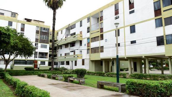 Pintarán fachadas de la residencial Santa Cruz, en San Isidro, por su 50 aniversario. (USI)