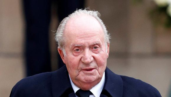 El polémico rey emérito Juan Carlos I. (Reuters)
