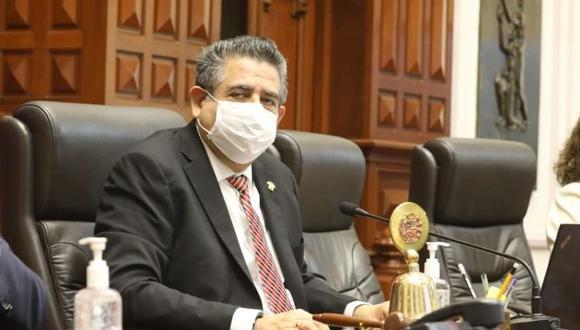 Manuel Merino, presidente del Congreso, también es representante de Acción Popular. (Foto: Congreso)