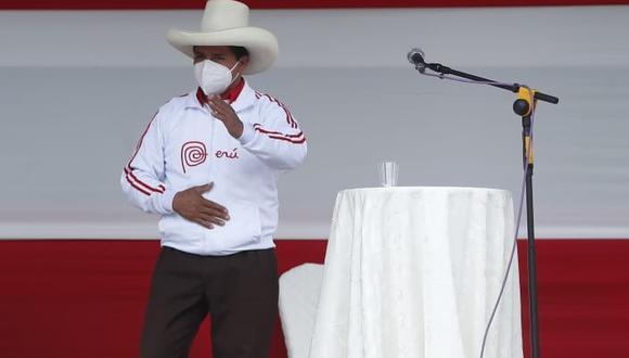 Excandidato a la presidencia Daniel Urresti cuestionó las propuestas presentadas por Pedro Castillo. (Foto: Hugo Pérez / @photo.gec)