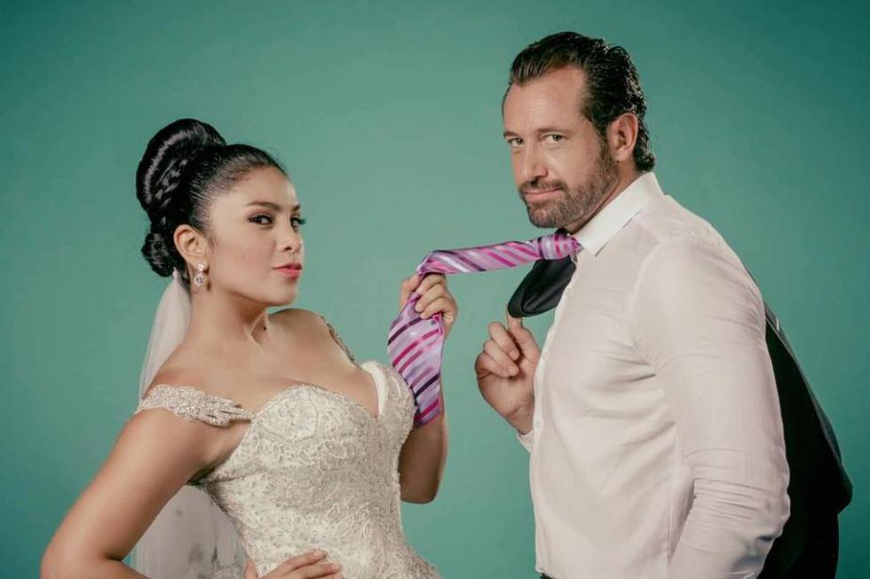 La cinta peruana 'La peor de mis bodas' es protagonizada por Maricarmen Marín y Gabriel Soto. (Facebook)