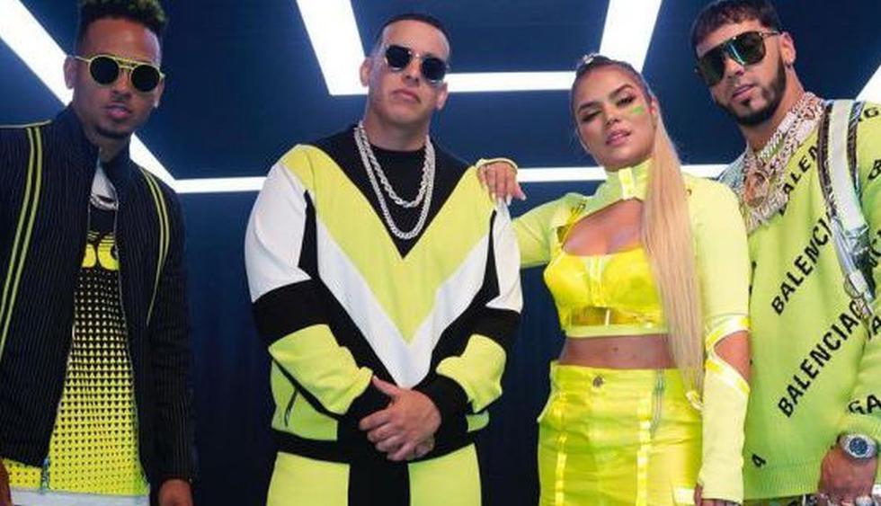"""Karol G se une a J Balvin, Daddy Yankee, Ozuna y Anuel AA para lanzar el tema """"China"""". (Foto: @Karolg)"""