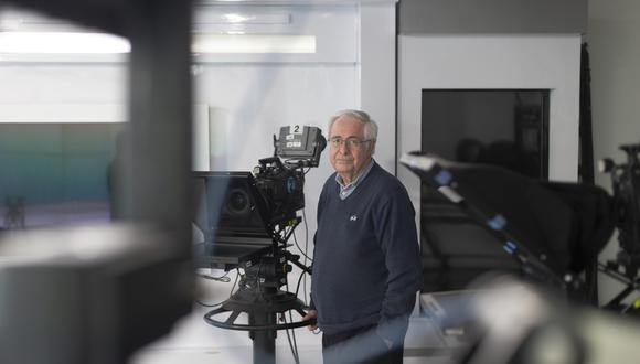 Hume inició su carrera en el rubro televisivo hace más de tres décadas como camarógrafo de noticias. Fue corresponsal de guerra en la primera guerra del Golfo. En 1991 ganó el Premio Emmy por su cobertura del atentado en la calle Tarata para la cadena Univisión.  FOTOS: RENZO SALAZAR