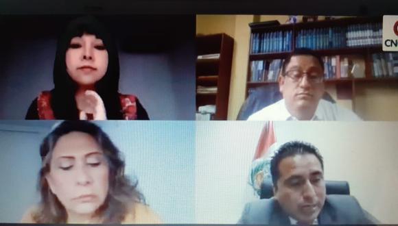 La Comisión de Ética Parlamentaria reanudó sus sesiones luego de casi tres semanas de paralización. (Foto: Captura TV)