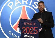 PSG hizo oficial la renovación del contrato de Neymar hasta la temporada 2025