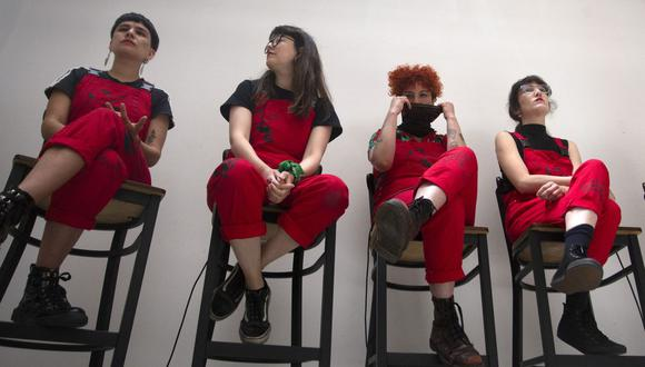 'Quemar el miedo': Primer libro del colectivo feminista LasTesis llega a las librerías en marzo. (Foto: AFP )