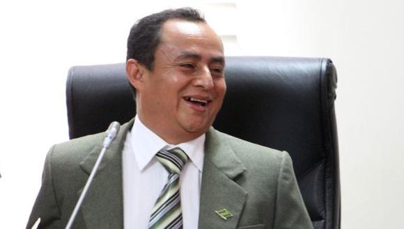 Gregorio Santos se lanzará a la reelección en la Región Cajamarca. (Perú21)