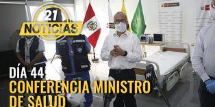 Coronavirus en Perú: Conferencia de Ministro Salud