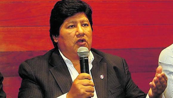 """Edwin Oviedo afronta su segunda acusación por el caso """"Wachiturros de Tumán""""."""