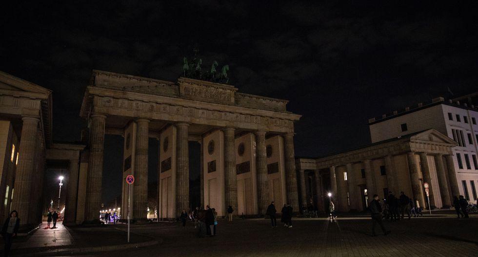 4. Hora del Planeta en Berlín, Alemania. (Foto: EFE)