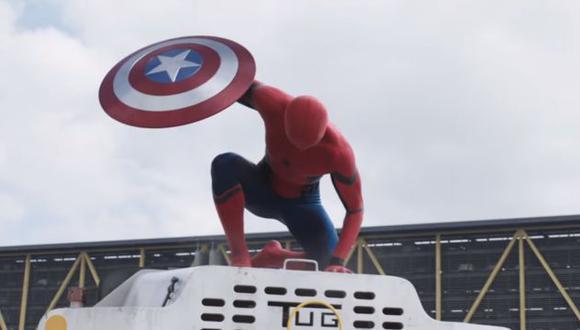 'Captain America Civil War' generó gran exceptiva en las redes sociales. (Captura YouTube)