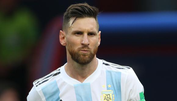 La presencia de Lionel Messi en la selección argentina no está asegurada por lo que resta del 2018 (Foto: AFP).