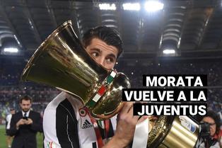 Regresa a Turín: Álvaro Morata llega cedido a la Juventus