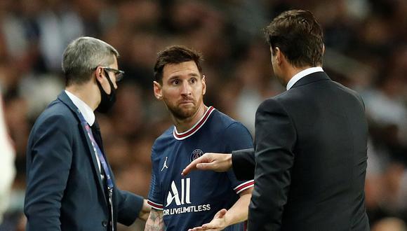 Lionel Messi fue cambiado a los 76 minutos y dejó su lugar a Achraf Hakimi. (Foto: Reuters)
