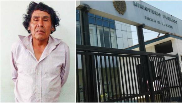 El sujeto purgará condena en el centro penitenciario ex Cambio Puente. (Foto: Fiscalía)