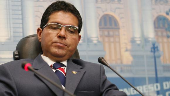 Michael Urtecho podría enfrentar investigación fiscal. (Luis Gonzales)