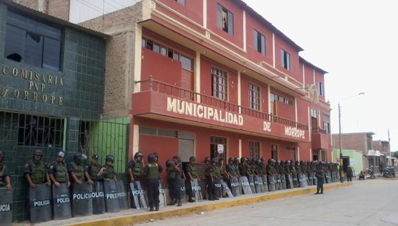 Lambayeque: Niña de 10 años muere en operación policial. (Juan Mendoza)
