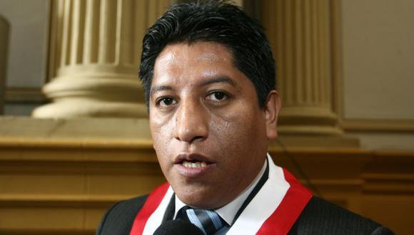 Gutiérrez negó que Jaime Delgado haya dejado la bancada. (USI)