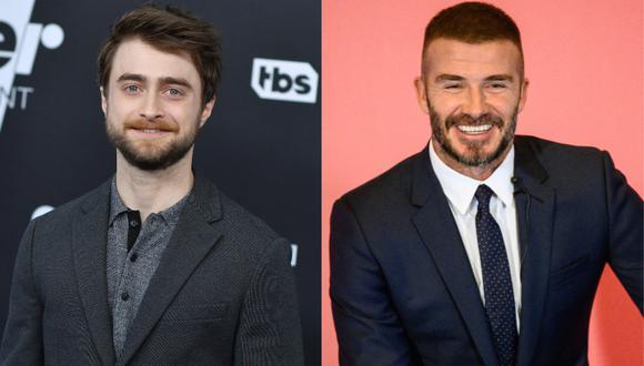 Daniel Radcliffe y David Beckham leerán libro de Harry Potter para ayudar ante confinamiento. (Foto: AFP)