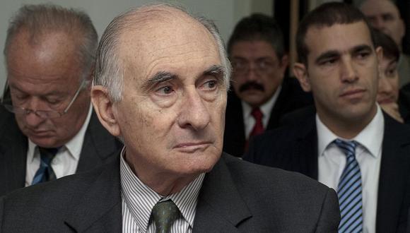 """Ex presidente argentino De la Rúa, de nuevo ingresado en estado """"muy delicado"""". (Foto: AP)"""