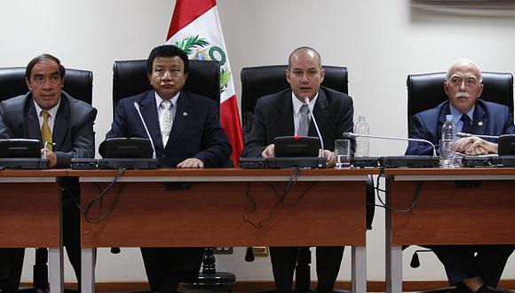 Sergio Tejada informó sobre el proceso de investigación. (USI)