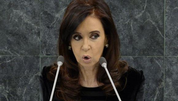 Cristina Fernández descansa en la residencia presidencial de Olivos. (AFP)