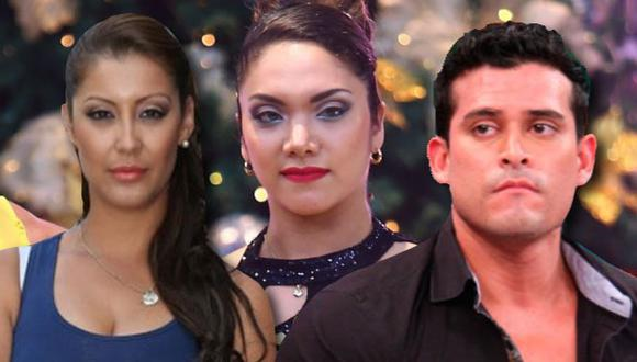 ¿Qué nombre le ponemos a la telenovela de Christian Domínguez, Karla Tarazona e Isabel?