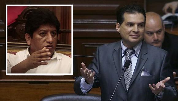 Omar Chehade y Josué Gutiérrez en un nuevo round. (Perú21)