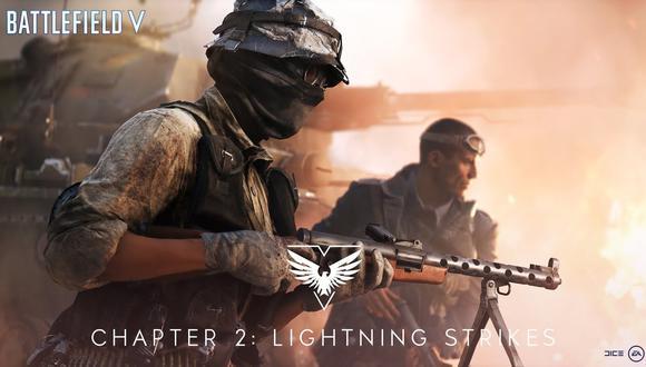 'Lightning Strikes', la segunda expansión de Battlefield V, llegará cargada de contenidos gratuitos.