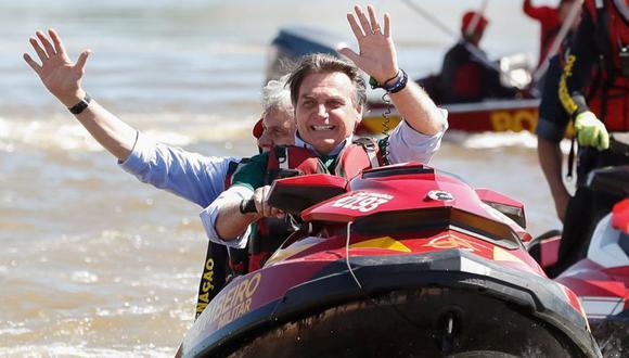 """Greenpeace dice que Jair Bolsonaro está """"inundando de veneno"""" a Brasil. (Foto: Reuters)"""