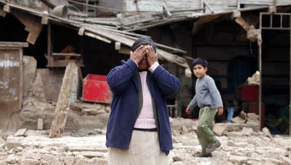 SERÁN RETIRADOS. Una vivienda colapsó en Morales Duárez. (David Vexelman)