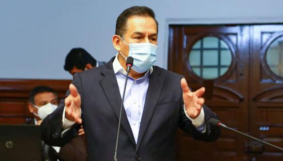"""José Vega consideró que """"muchos parlamentarios de manera independiente se sumarán"""" a la moción de censura en contra de Alva Luperdi. (Foto: Congreso)"""