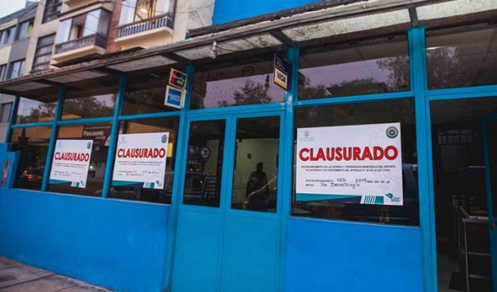 El personal de Fiscalización y Sanidad de la Municipalidad de San Borja clausuró diversas cevicherías. (Foto: Municipalidad de San Borja)